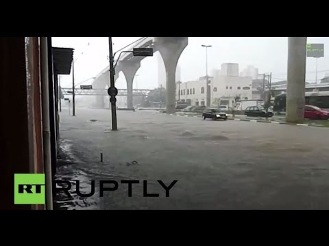 Brazil: Severe floods engulf Sao Paulo, electricity hazards rife