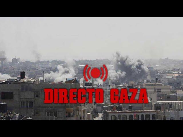 Conflicto israelí-palestino: DIRECTO Skyline de Gaza mientras sigue la escalada de violencia