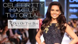 How to : celebrity makeup tutorial |  esha gupta for lakme fashion week 2015