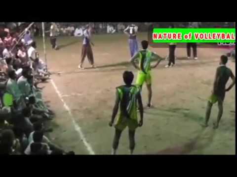 Murad jehan vs farooq khan volleyball ball match nature of volleyball1