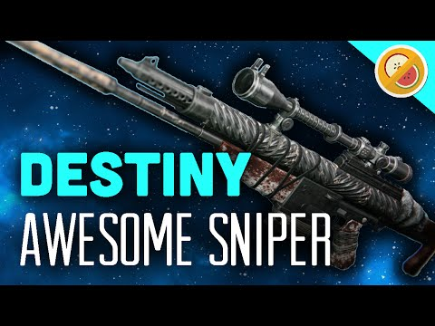 DESTINY But Not Forgotten NEW Sniper Rifle Review & Gameplay (Rise of Iron)