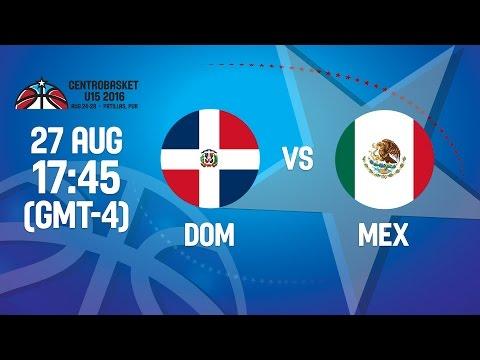 Dominican Republic v Mexico - Semifinal #1 - 2016 FIBA Centrobasket U15 Championship