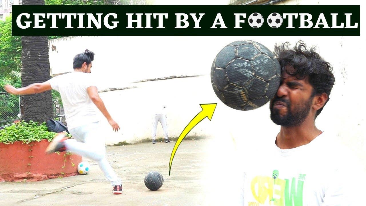 Getting Hit By A Football - Punishment #1   Funk You   Nirbhay Singh   Pramod Rawat