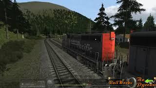 Мини обзор локомотива Gp40 2 от Rrmods