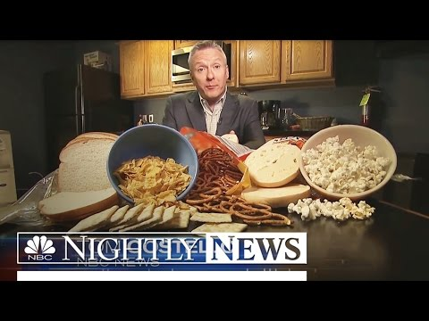 Study Shows Starchy, Sugary Diet May Raise Risk of Lung Cancer   NBC Nightly News