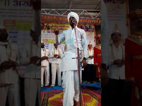 Vishal maharaj khole muktainagar samrtyane ghajana