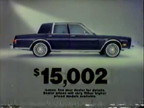 1985 chrysler fifth avenue commercial youtube. Black Bedroom Furniture Sets. Home Design Ideas