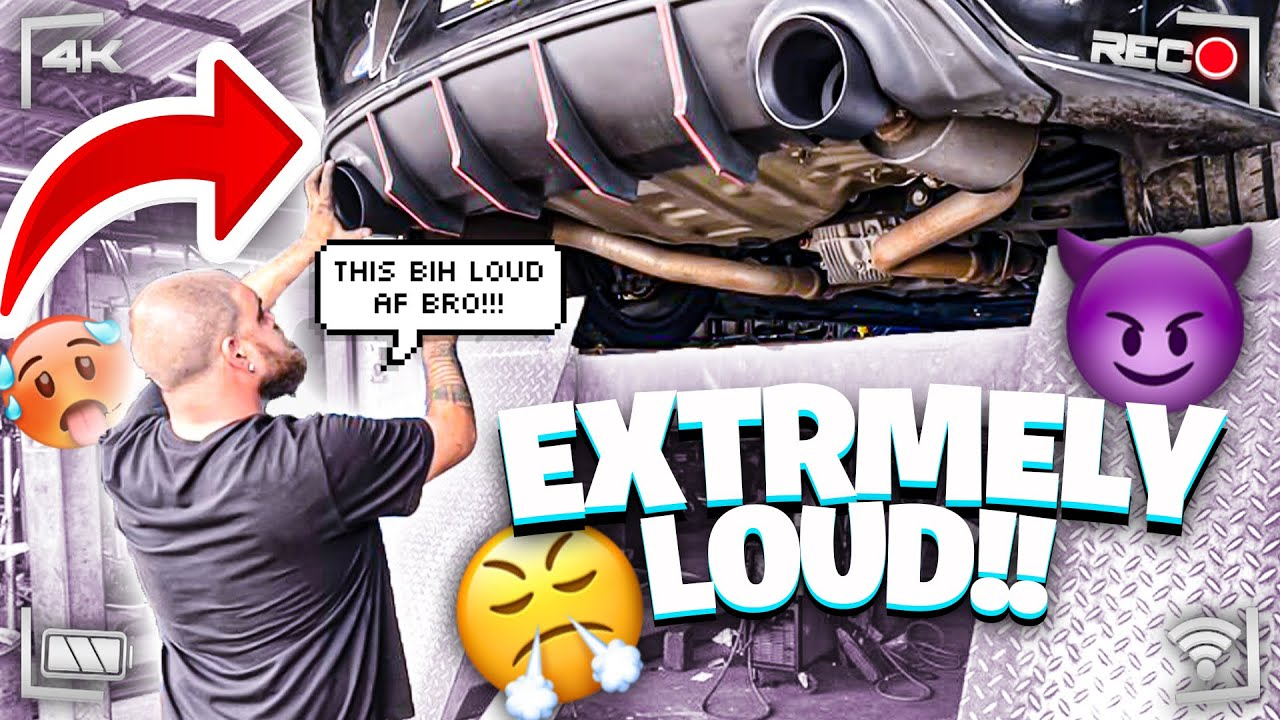 5 INCH CARVEN EXHAUST TIPS ON MY HELLCAT!!! (POV FOOTAGE MUST SEE!!!!)  *SOUNDS CRAZY*