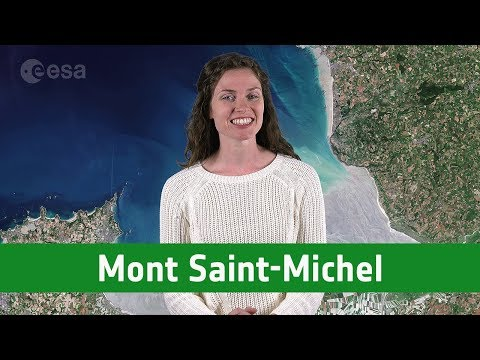 Earth from Space: Mont Saint-Michel
