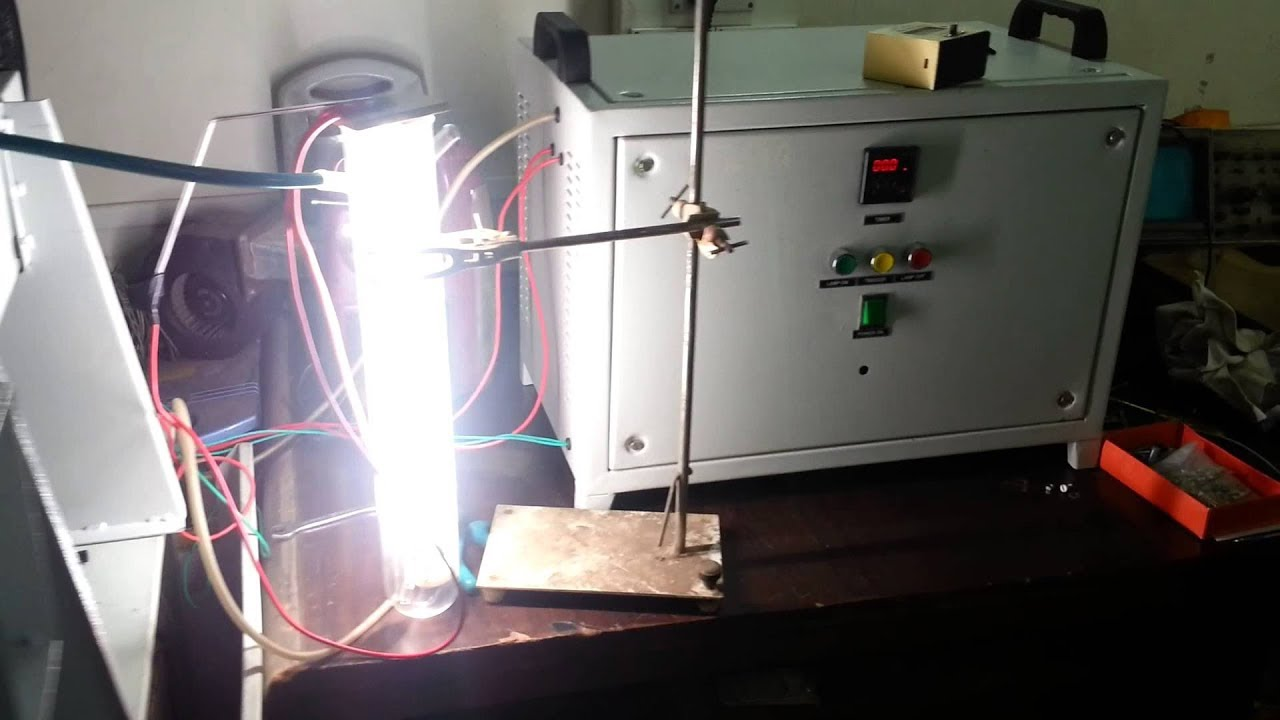 30kW And 4kW Xenon Lamps Get Tested On A DC Welder | Xenon Arc Lamp |  Universal Clab