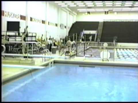 1986 BIG 8 Women's Diving Finals and Prelims UNL Part 1