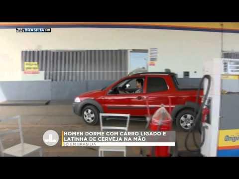 HOMEN DORME COM CARRO LIGADO E LATINHA NA MÃO | WA News Brasilia