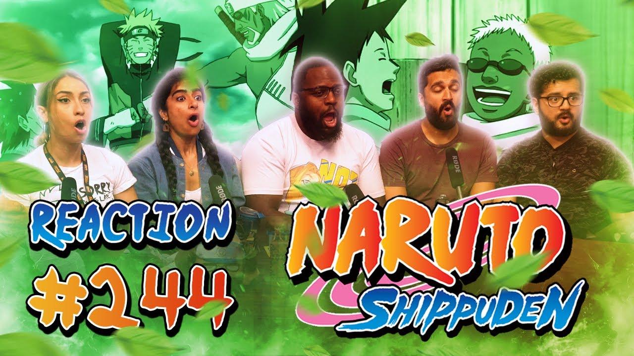 Download Naruto Shippuden - Episode 244 Killer Bee and Motoi - Group Reaction