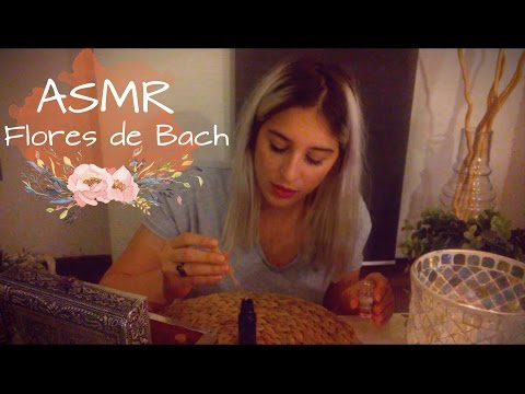 ASMR Español☯ Role play❀Terapia con Flores de Bach ❀ Theraphy with flowers of bach