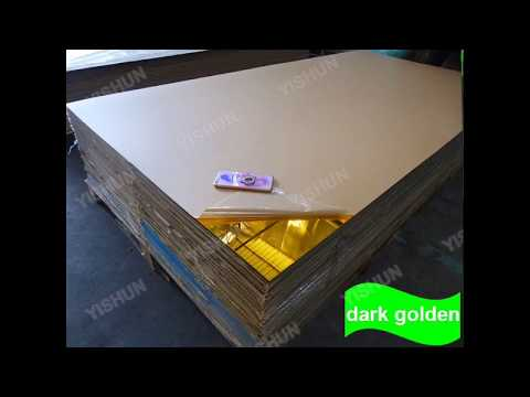 Plexiglass Mirror Sheet Manufacturer With 4ft*6ft And 4ft*8ft Size Wholesale Acrylic Mirror Factory