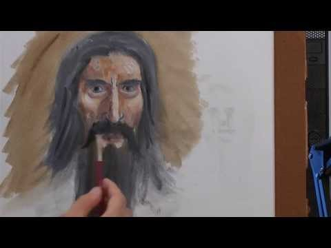 How to Paint a Wizard Portrait