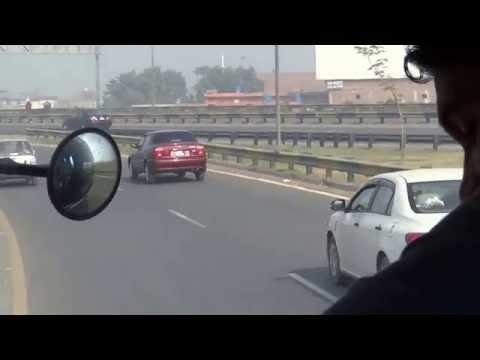 M2 Motorway 20 Nov 2014 Lahore Pakistan HD