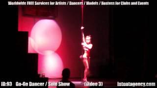 ID-93 (03) Танцовщицы Пол Дэнс / Гоу-гоу для ночных клубов
