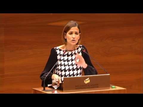 Intervención de María Chivite en el Pleno sobre Presupuestos