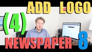 Newspaper 8 Theme Tutorial 2018 (Part 4) - How To Add A Logo To Wordpress Header 2018