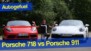 Porsche 911 vs Porsche 718 - which one is the true Porsche?
