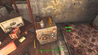 Fallout 4 Secret Cellar In Sanctuary With Gold Bars Inside, Location!
