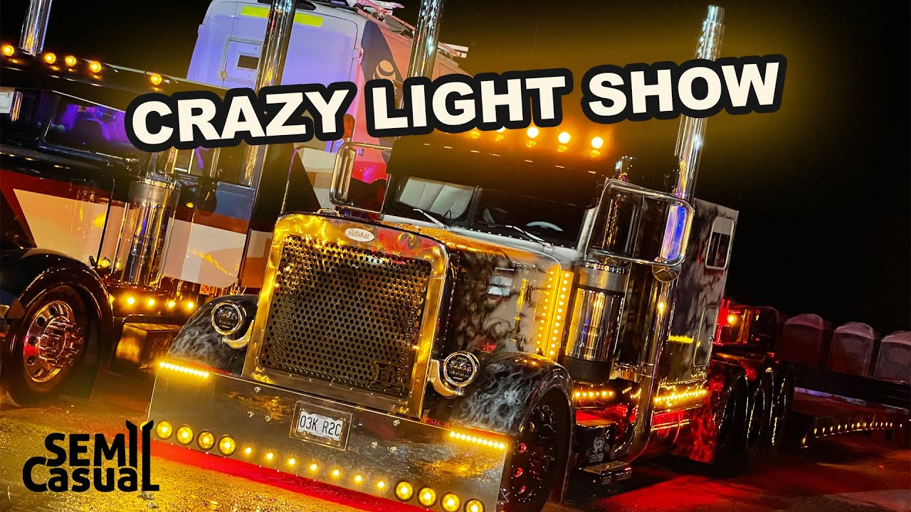 Chicken Lights and Chrome - Semi Casual Truck Show 2021
