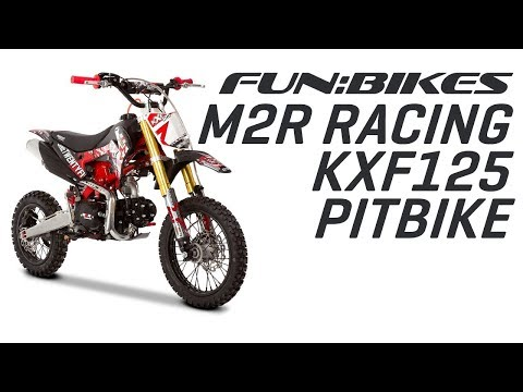 Product Overview: M2R Racing KXF125 120cc 76cm Black Red Pit Bike
