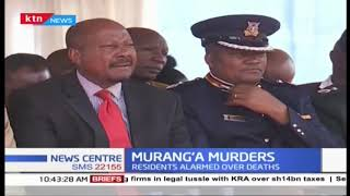 Murang'a residents alarmed over increased murder cases