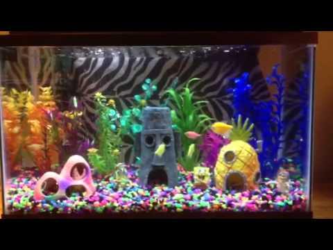 spongebob glo tank youtube. Black Bedroom Furniture Sets. Home Design Ideas