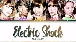 F(X)(에프엑스)「Electric Shock」Letras traduzidas em código de cor…