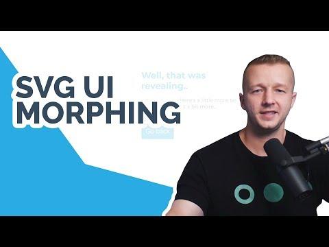Anime.js Tutorial - Morphing SVG's In Web Design