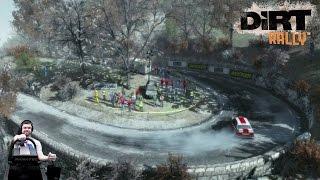 Скользкое ралли Монако Монте-Карло BMW M3 E30   Dirt Rally на руле Fanatec CSL Elite Wheel