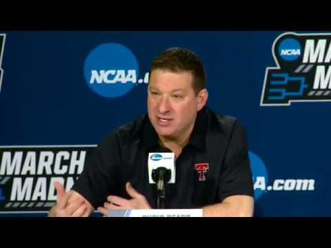 NCAA Opening Round Press Conference - Chris Beard