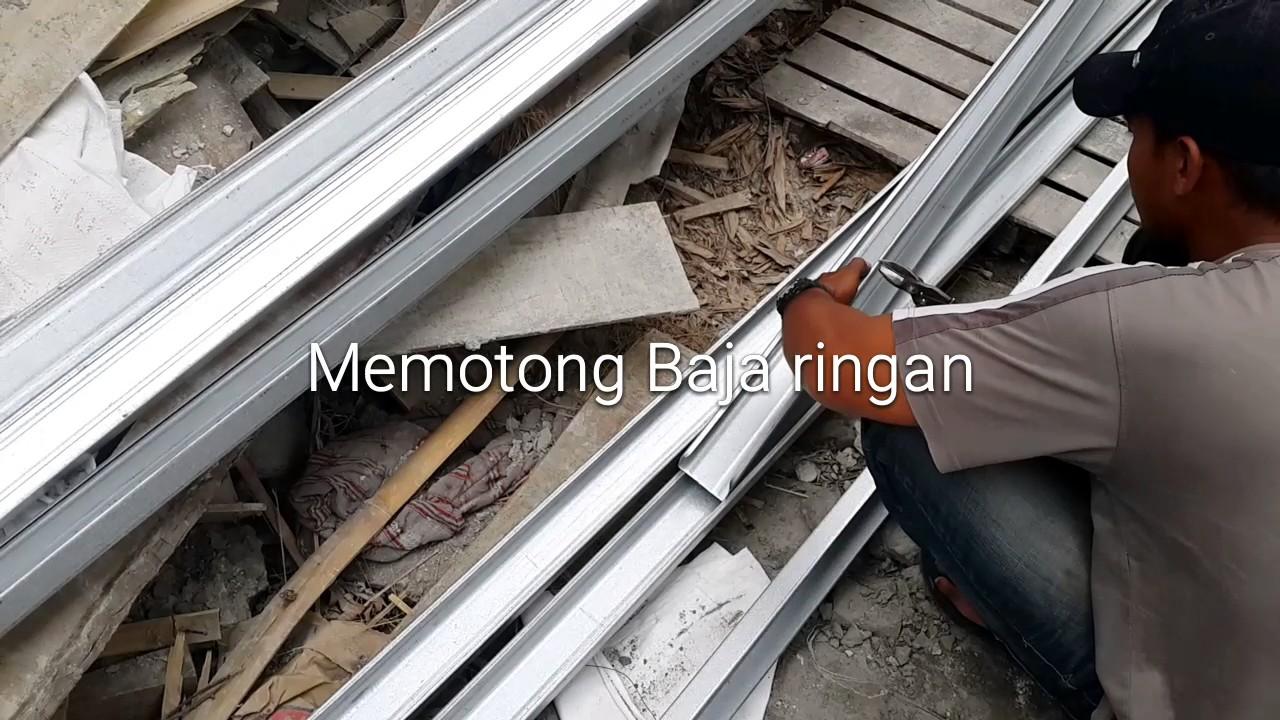 tipsberlian Cara memotong baja ringan bajaringanjogja