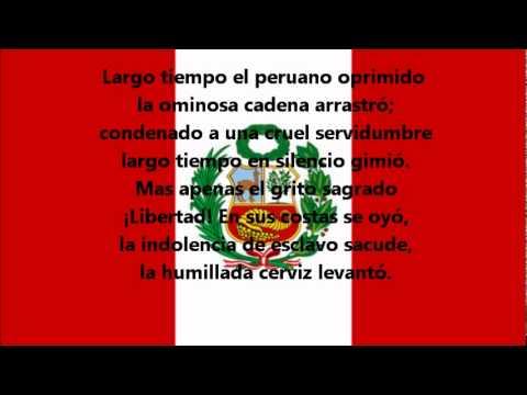 Hymne national du Pérou