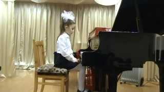 Экзамен 1 й кл  фортепиано. Май 2014