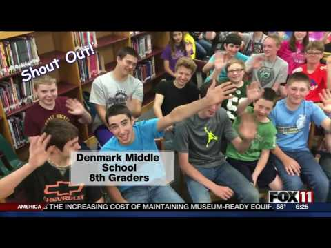 Denmark Middle School Shout Out 052516