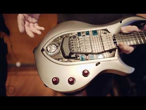 John Petrucci Guitar Run with tech, Maddi Schieferstein
