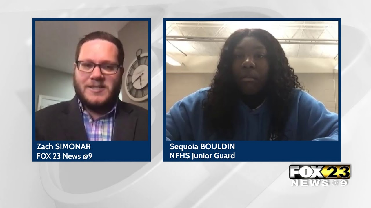 NFHS basketball player Sequoia Bouldin discusses pandemic's impact