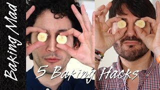 5 Baking Hacks by 2 Frenchmen!
