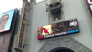 Joaquin Phoenix premieres 'Joker' with family