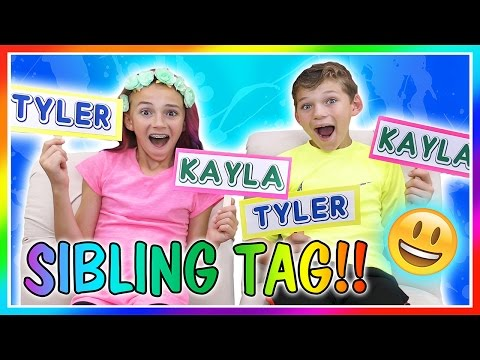 THE SIBLING TAG | We Are The Davises