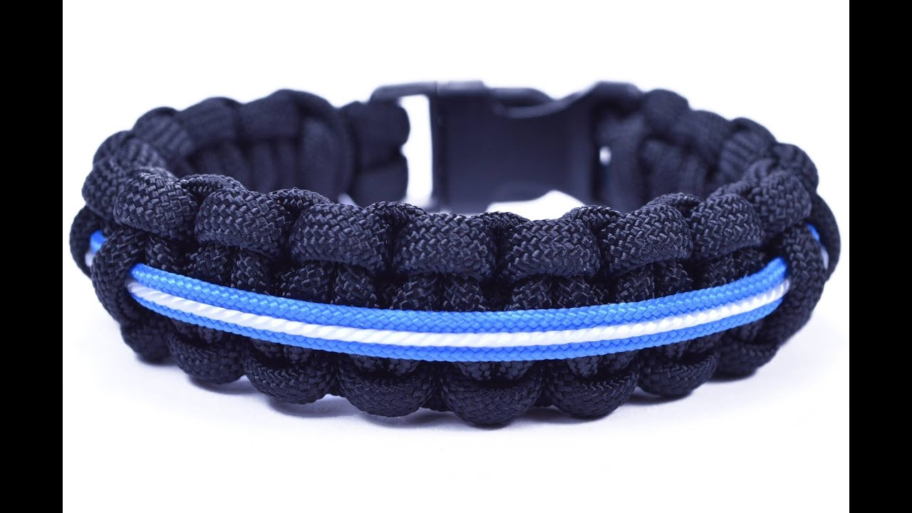 How to Make a Star Wars Themed Lightsaber Paracord Bracelet -  BoredParacord com