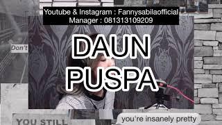DAUN PUSPA | COVER BY FANNYSABILA