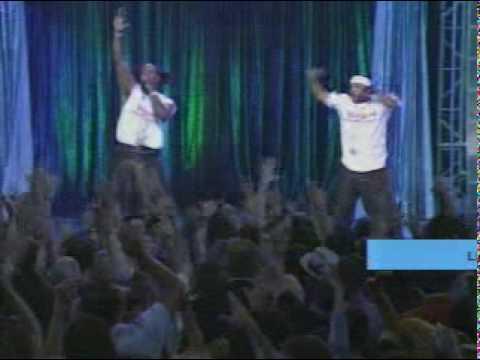 MTV   Run DMC, Salt'n Pepa, Naughty By Nature, Busta Rhymes, Ja Rule, Puff Daddy   Hip Hop Medley Live @ MTV Turns 20