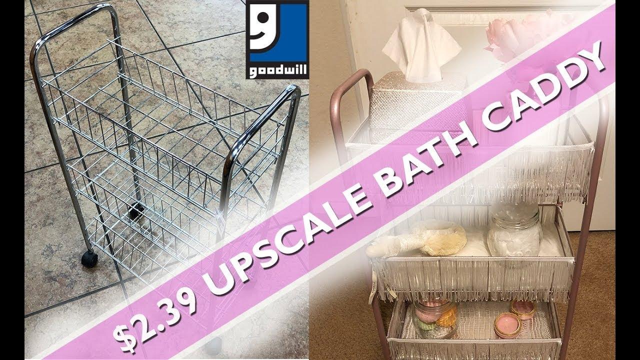 Diy Upscale Blush Bathroom Decor 2 39 Goodwill Find Master