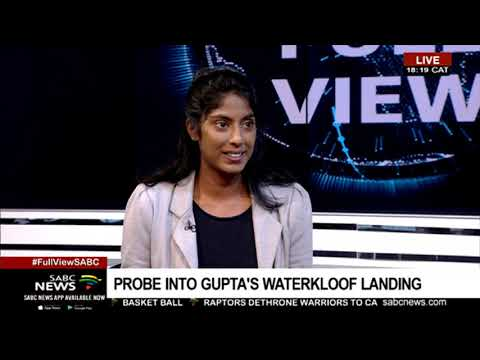 Probe into Gupta family Waterkloof landing: Azarrah Karrim