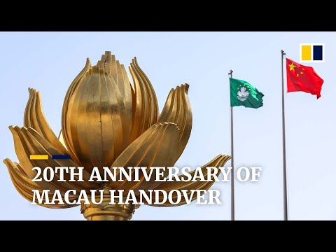 Macau marks 20 years since former the Portuguese colony's return to China