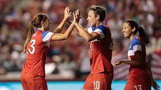 WNT vs. Mexico: Highlights - Sept. 13, 2014